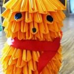 Garfield – origami modułowe