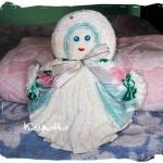 Ręcznikowa lalka