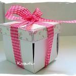 Pudełko pełne życzeń- exploding box