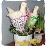 Kurczakowa para – Wielkanocne dekoracje