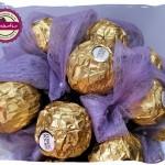 Bukiet z czekoladek Ferrero Rocher