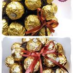 Bukiet z czekoladek Ferrero Rocher dla mężczyzny